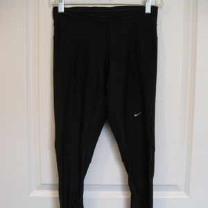 Nike Vented Compression Tights w/Zippered Ankles S